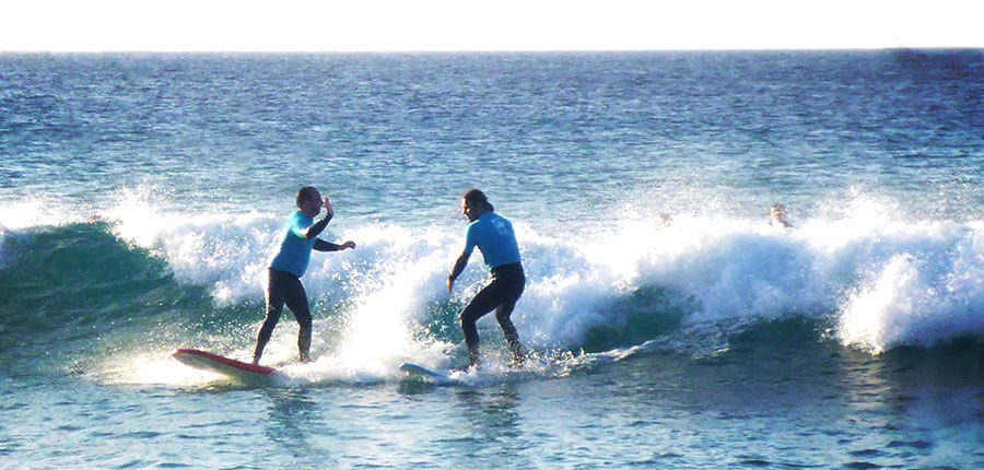 """That's Fuerteventura how we love it"" – our surfing lessons on the 27 December 2014"