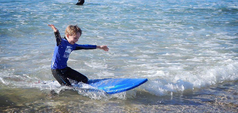 New Years Surf with our surfcamp on fuerteventura – surfing lessons on 02. January 2015