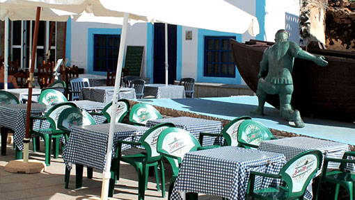 Restaurant Café Central in El Cotillo