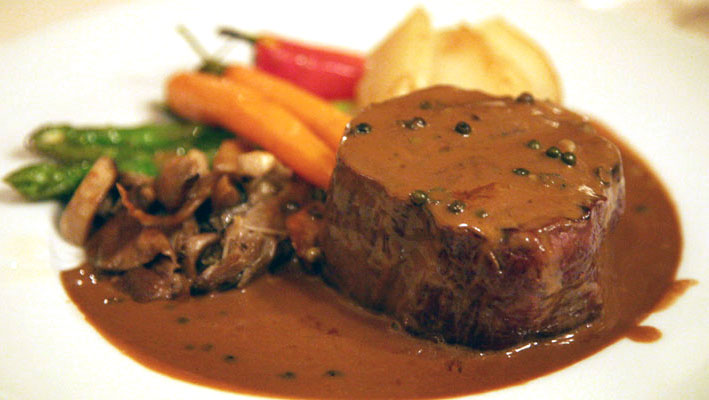 Delicious Steak in Casa Rustica