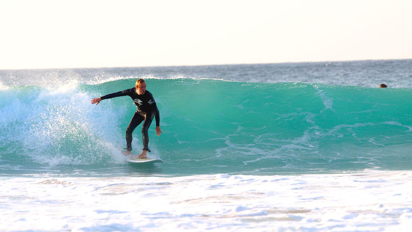 Mini-Malibu-Surfen