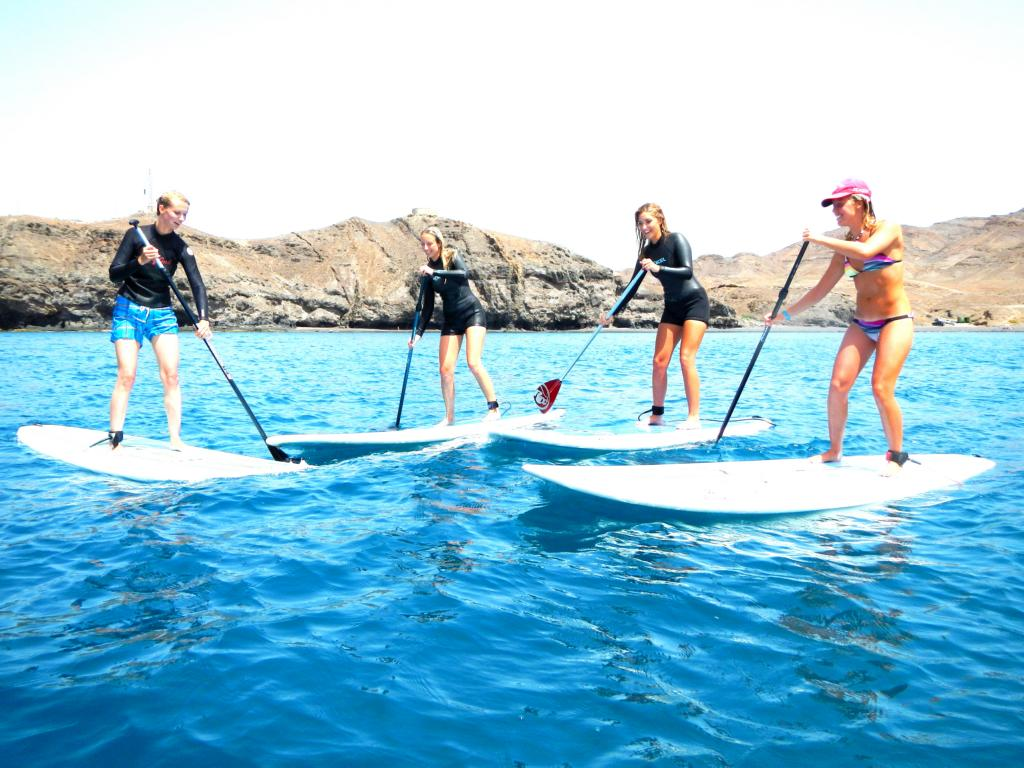 SUP tours on Fuerteventura