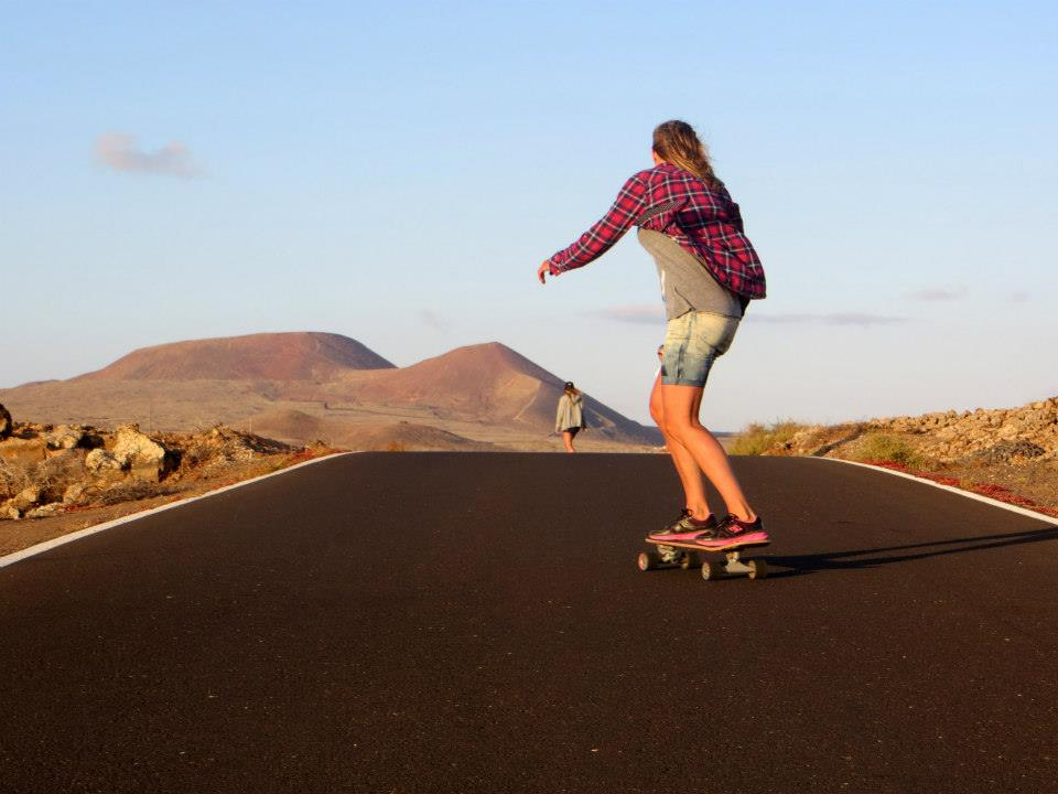 Skateboarding on Fuerteventura - by Zsoka Noemi