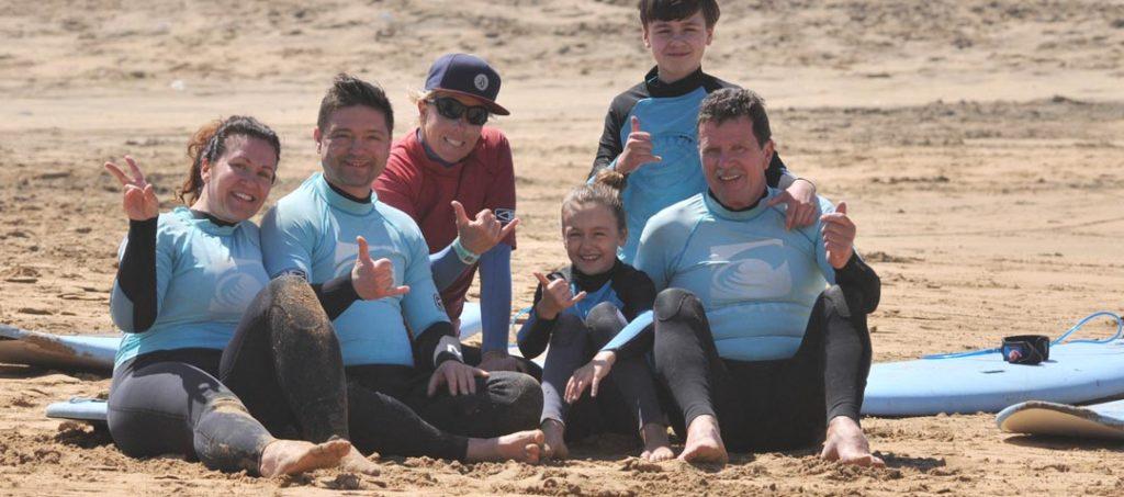 surfing on fuerteventura - head stand